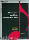 Ok�adka: Mozart Wolfgang Amadeusz, Piano Pieces