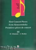 Okładka: Lakos Agnes, First Concert Pieces III (piano)