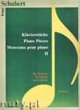 Okładka: Schubert Franz, Piano Pieces Vol. 2