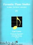 Okładka: Czerny Carl, Favourite Piano Studies, Op. 740, nr 25 - 50 - Art of Finger Dexterity