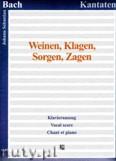 Ok�adka: Bach Johann Sebastian, Weinen, Klagen, Sorgen, Zaben, BWV 12 - Klavierauszug