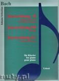 Okładka: Bach Johann Sebastian, Koncert włoski BWV 971, Uwertura francuska BWV 831, 4 duety BWV 802 - 805, Wariacje Goldbergowskie BWV 988