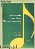 Ok�adka: Schubert Franz, Piano Pieces 1 - Urtext