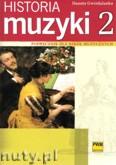 Okładka: Gwizdalanka Danuta, Historia muzki cz. 2 Podręcznik dla szkół muzycznych: Barok - Klasycyzm - Romantyzm