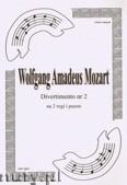 Okładka: Mozart Wolfgang Amadeusz, Divertimento Hn Hn Tbn (partytura + głosy), ar. B.Baran