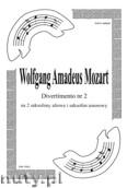 Okładka: Mozart Wolfgang Amadeusz, Divertimento nr 2 (partytura + głosy)