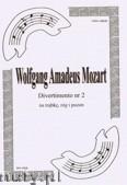 Okładka: Mozart Wolfgang Amadeusz, Divertimento Tp Hn Tbn (partytura + głosy), ar. B.Baran
