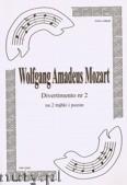 Okładka: Mozart Wolfgang Amadeusz, Divertimento Tp Tp Tbn (partytura + głosy), ar. B.Baran