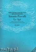 Okładka: Pasculli Antonio, Le Api per oboe con accompagnamento di pianoforte