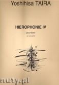 Ok�adka: Taira Yoshihisa, Hierophonie 4 For Flute
