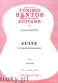 Okładka: Santos Turibio, Suite pour guitare