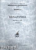 Ok�adka: Diabelli Antonio, Sonatines, Op. 151 et 168 pour Piano