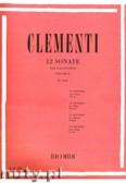 Ok�adka: Clementi Muzio, 12 Sonate per pianoforte - Volume 2