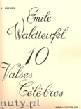 Okładka: Waldteufel Emile, 10 Valses Célébres for Piano, Vol. 2