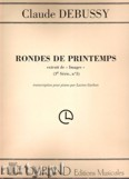 Okładka: Debussy Claude, Rondes De Printemps (From Images)