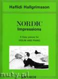 Ok�adka: Hallgrimsson Haflidi, Nordic Impressions (6 Easy Pieces)