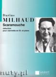 Okładka: Milhaud Darius, Scaramouche, suite pour saxophone et orchestre