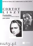 Ok�adka: Liszt Ferenc, Fun�railles pour piano