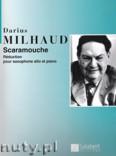 Ok�adka: Milhaud Darius, Scaramouche (Alto Sax / Piano)