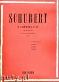 Okładka: Schubert Franz, 8 Improvvisi, Op. 90 e Op. 142 per Pianoforte