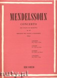 Ok�adka: Mendelssohn-Bartholdy Feliks, Concerto Op. 64