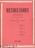 Okładka: Mendelssohn-Bartholdy Feliks, Concerto Op. 64