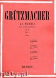 Okładka: Grützmacher Friedrich, 24 Studi, Op. 38, Book 1