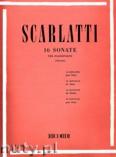 Okładka: Scarlatti Domenico, 16 Sonatas