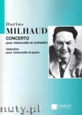 Okładka: Milhaud Darius, Concerto No. 1 pour violoncelle et orchestre