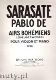 Ok�adka: Sarasate Pablo de, Airs Boh�miens, Op. 20