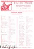 Okładka: Bach Johann Sebastian, Fugue a 3 Voix (Pujol 1103)