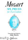 Okładka: Mozart Wolfgang Amadeusz, Six Pieces