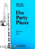 Okładka: Jacques Michael, 5 Party Pieces