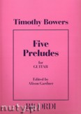 Ok�adka: Bowers Timothy, Five Preludes