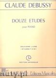 Ok�adka: Debussy Claude, 12 Etudes - Volume 2 (Nos. 7-12)