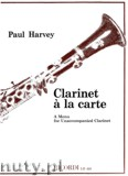 Ok�adka: Harvey Paul, Clarinet a la carte