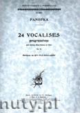 Ok�adka: Panofka Heinrich, 24 Vocalises, Op. 81
