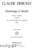 Okładka: Debussy Claude, Hommage a Haydn