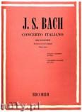 Ok�adka: Bach Johann Sebastian, Concerto Italiano per pianoforte