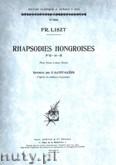 Okładka: Liszt Franz, Rhapsodies Hongroises, Vol. 5 Piano (Nos. 13-15)
