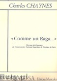 Okładka: Chaynes Charles, Comme un Raga...