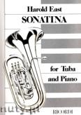Okładka: East Harold, Sonatina for Tuba and Piano