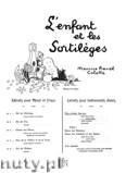 Okładka: Ravel Maurice, L'Enfant et les Sortileges