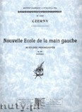 Okładka: Czerny Carl, Nouvelle Ecole de la main gauche, Op. 861