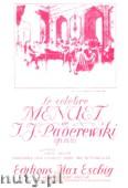 Okładka: Paderewski Ignacy Jan, Menuet, Op 14 No. 1