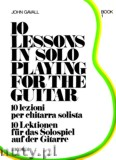Okładka: Gavall John, Ten Lessons In Solo Playing, Book 1