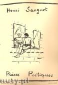 Okładka: Sauguet Henri, Pieces Poetiques No. 2 pour piano