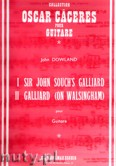 Okładka: Dowland John, Sir John Souch's Galliard and Galiard (on Walsingham)