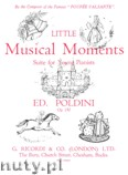 Okładka: Poldini Edoardo, Little Musical Moments, Op. 150