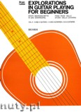 Okładka: Lester Bryan, Explorations In Guitar Playing For Beginners, Vol. 2